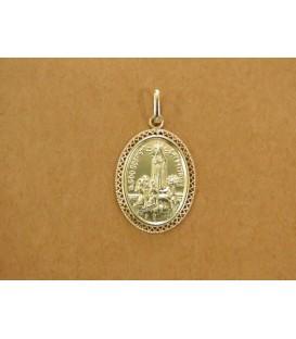 Medalha Oval Trabalhada