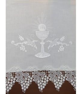 Toalha de Altar Cálice Branca