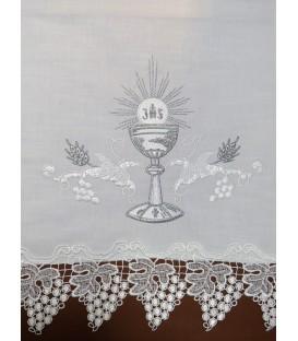 Toalha de Altar Cálice Prata