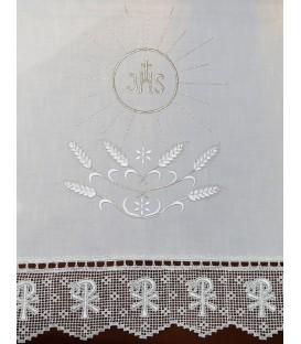 Toalha de Altar Corpo de Deus - Prata