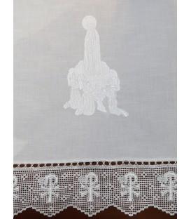 Toalha de Altar Corpo de Aparição - Branco