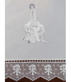 Toalha de Altar Corpo de Aparição - Prata
