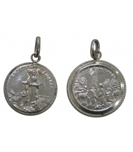 Medalha Anjo da Guarda - Rendilhada