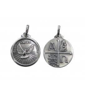 Medalha redonda grande - Espírito Santo