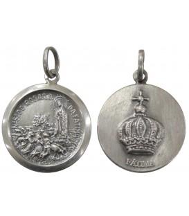 Medalha com Terra de Fátima