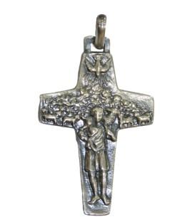 Cruz Prata Papa Francisco
