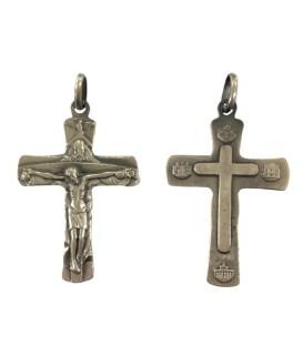 Cruz Prata Santíssima Trindade