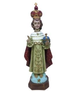 Menino Jesus de Praga - Resina
