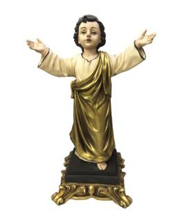 Menino Jesus em Pé dourado - Marfinite