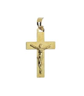 Cruz Ouro Chapa Pequena