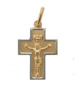 Cruz Ouro Bicolor Larga