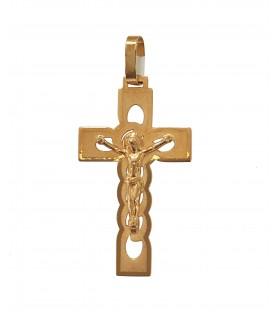 Cruz Ouro Tipo Cadeado