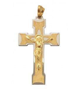 Cruz Ouro Bicolor Recortada
