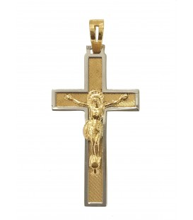 Cruz de Prata efeito encadeado