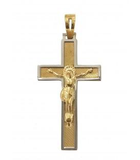 Cruz Ouro Bicolor Grande