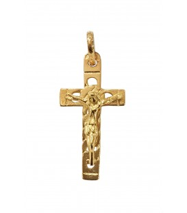 Cruz Ouro Cadeado