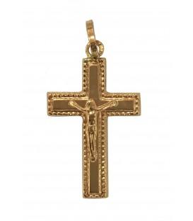 Cruz Ouro Pontilhada