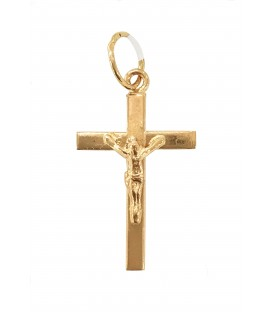 Cruz Ouro Quadrada