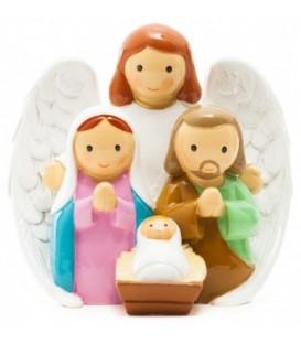 Anjo com Sagrada Família