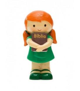 Menina com Bíblia - Infantil