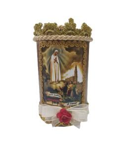 Vela Decorativa - Fátima