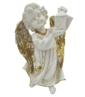 Anjo da Guarda c/ lanterna - Resina