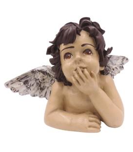 Anjos com Coroa de Flores - Mini