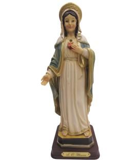 Sagrado Coração de Maria -Resina