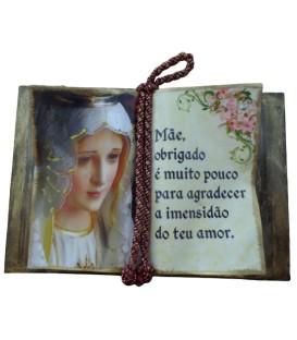 """Livro Decorativo - """"Mãe"""""""