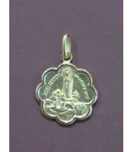 Medalha em forma de Flor - Fátima