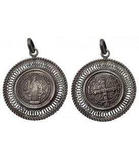 Medalha de S. Bento - Rendilhada