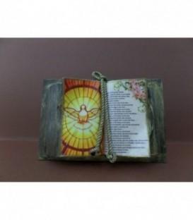 """Livro Decorativo - """"Espírito Santo"""""""